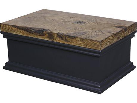 Veranda Classics Modern Renovation Black Walnut TerraFab 42'' Rectangular Coffee Table