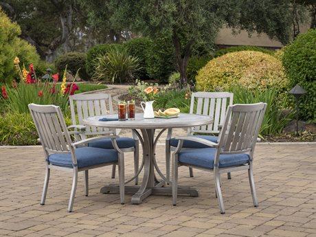 Veranda Classics Tanglewood Aluminum 5 Piece Dining Set PatioLiving