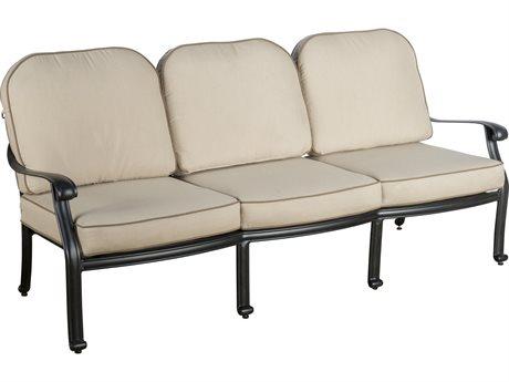 Veranda Classics Harmony Radiant Bronze Cast Aluminum Sofa
