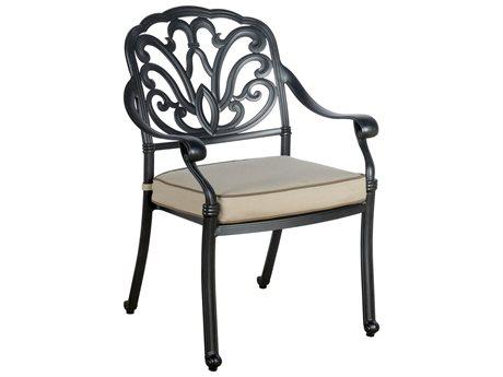 Veranda Classics San Marino Radiant Bronze Cast Aluminum Dining Chair - Price Includes 4 Chairs