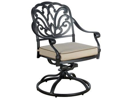 Veranda Classics San Marino Radiant Bronze Swivel Dining Chairs - Price Includes 2 Chairs