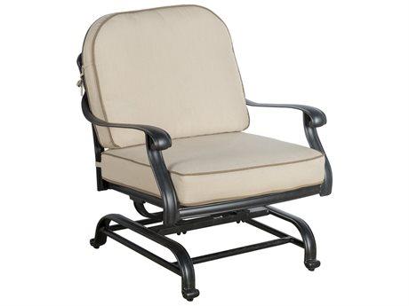 Veranda Classics San Marino Radiant Bronze Cast Aluminum Spring Club Chair- Price Includes 2 Chairs