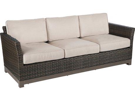 Veranda Classics Metropolitan Smoked Bronze Wicker Sofa