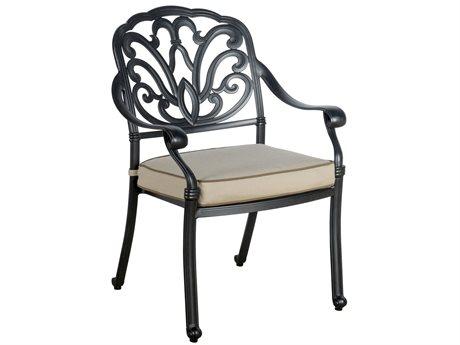 Veranda Classics San Marino Cast Aluminum Radiant Bronze Dining Arm Chair - Price Includes 4 Packs PatioLiving