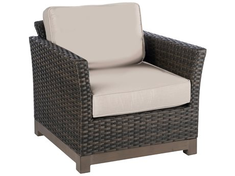 Veranda Classics Metropolitan Wicker Smoked Bronze Lounge Chair - Price Includes 2 Packs PatioLiving