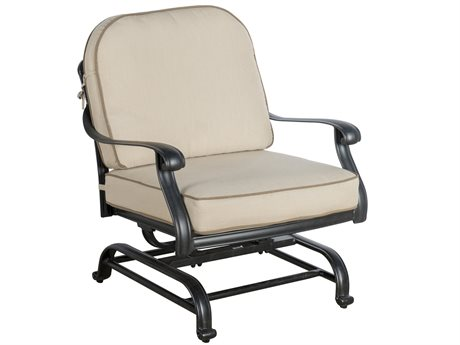 Veranda Classics San Marino Cast Aluminum Radiant Bronze Motion Club Chair - Price Includes 2 Packs