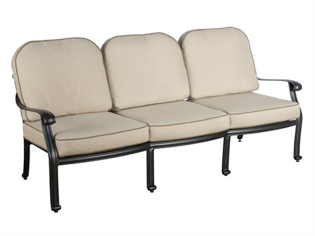 Veranda Classics San Marino  Cast Aluminum Radiant Bronze Sofa - Price Includes 2 PatioLiving
