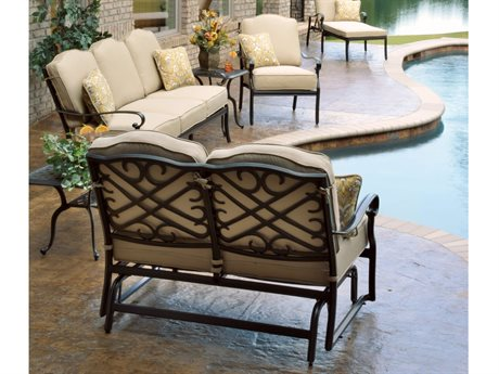 Veranda Classics Harmony Radiant Bronze Cast Aluminum Lounge Set