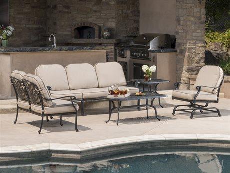 Veranda Classics San Marino Radiant Bronze Cast Aluminum Lounge Set