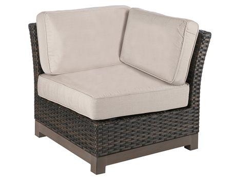 Veranda Classics Metropolitan Wicker Smoked Bronze Corner and Modular Lounge Chair PatioLiving