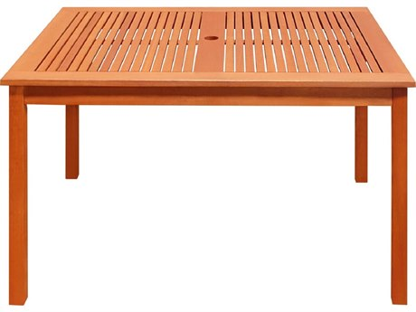 Vifah Wood 47.2 x 35.4 Rectangular Table