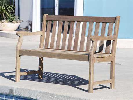 Vifah Renaissance Eco-friendly 4-foot Hand-scraped Hardwood Garden Bench