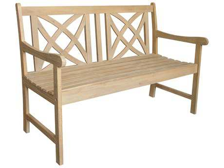 Vifah Beverly Outdoor Garden Outdoor Acacia Hardwood 4-foot Garden Bench