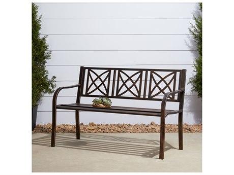 Vifah Paracelsus Aluminum Metal Bench
