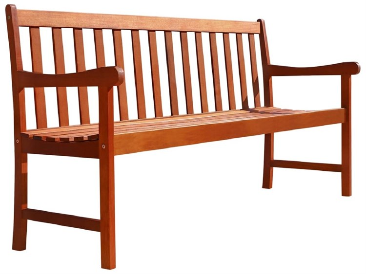 Vifah Eucalyptus Wood Nobi 62 x 24 Bench