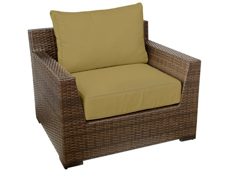 Vida Outdoor Pacific Wicker Club Chair - Palm