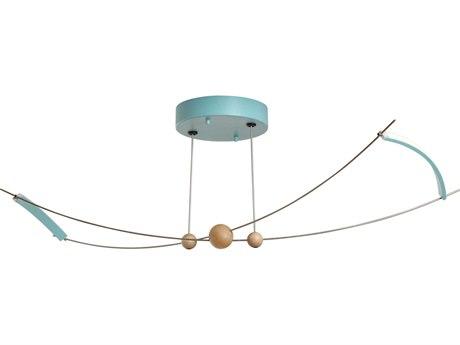 Vermont Modern Copernicus 27'' Wide LED Semi-Flush Light