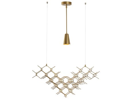 Vermont Modern Hive 31'' Wide Pendant Light
