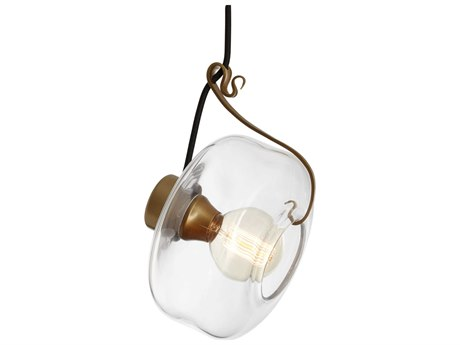 Vermont Modern Hook 10'' Wide Mini Pendant Light