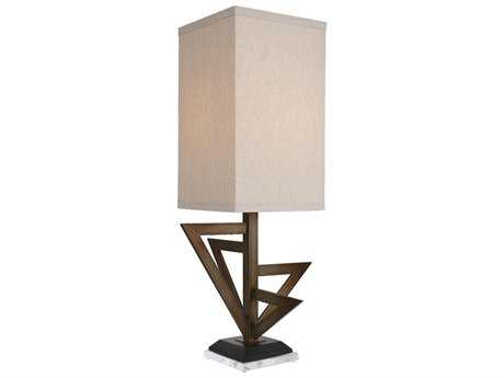 Van Teal Town ''Downtown'' Krypton Gold & Matte Black Table Lamp