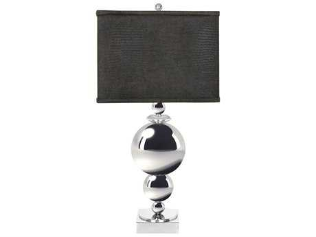 Van Teal Around The World New World Chrome Table Lamp