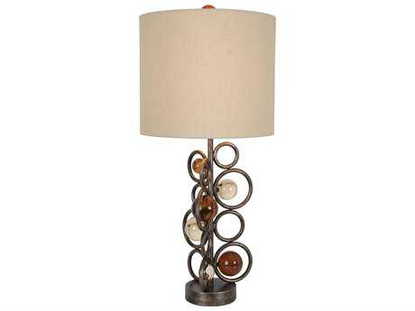 Van Teal Free Wheeling More Wheels Golden Ochre Table Lamp