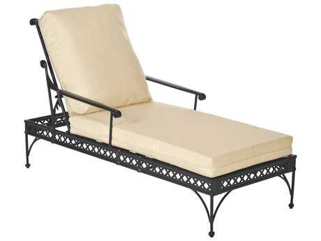 Windham castings windsor cast aluminum cushion arm for Chaise windsor