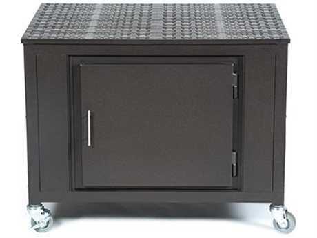 Windham Castings Entertainment Cast Aluminum 30 x 40 Single Cabinet Cart