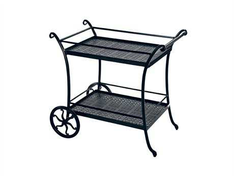 Windham Castings Accesories Cast Aluminum Serving Cart 42W x 30D x 37H