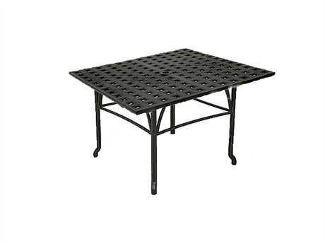 Windham Castings Metro Classic Cast Aluminum 22'' Square Straight End Table