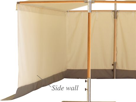 Woodline Shade Solutions Papillon Side Wall