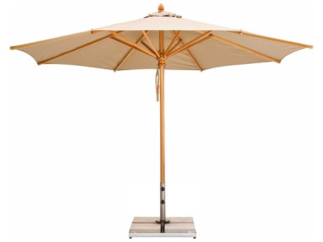 Woodline Shade Solutions Safari Umbrella with 1.5'' Wide Pole PatioLiving