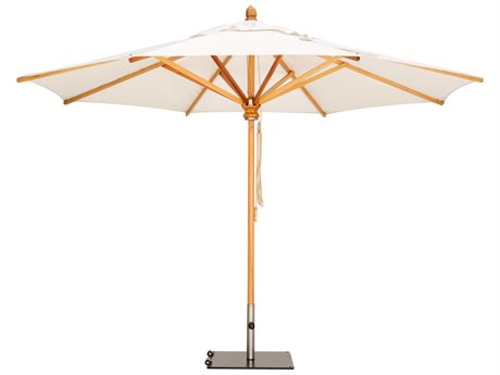 Woodline Shade Solutions Safari Umbrella with 1.9'' Wide Pole PatioLiving