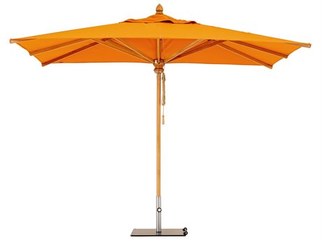 Woodline Shade Solutions Safari Umbrella with 2.4'' Wide Pole