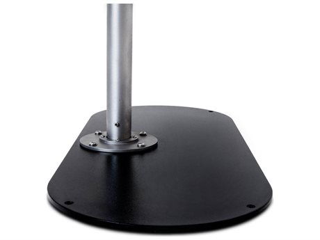 Woodline Shade Solutions Oval Metal base (Set of 2)