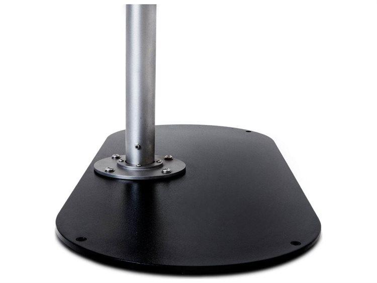 Woodline Shade Solutions Oval Metal base (Set of 2) PatioLiving