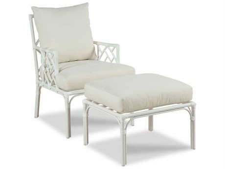 Woodbridge Furniture Outdoor Carlyle Aluminum Cushion Lounge Set PatioLiving