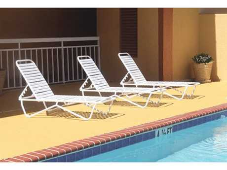 Windward Design Group Aruba Strap Aluminum Lounge Set
