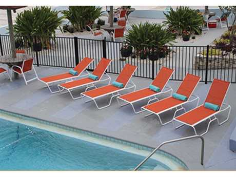 Windward Design Group Country Club Sling Aluminum Lounge Set