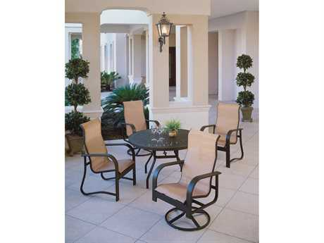 Windward Design Group Harbourage Sling Aluminum Dining Set
