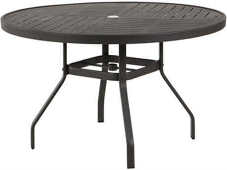 Windward Design Group Napa Punched Aluminum 36 Round Dining Table
