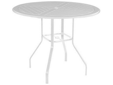 Windward Design Group Newport Mgp Aluminum 36 Round Bar Table