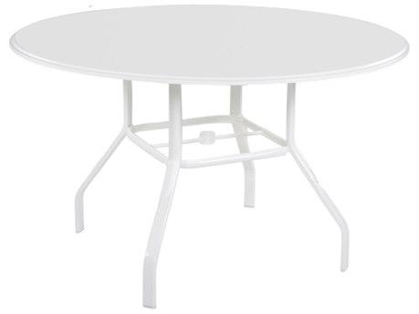 Windward Design Group Plain Mgp Aluminum 36''Wide Round Dining Table