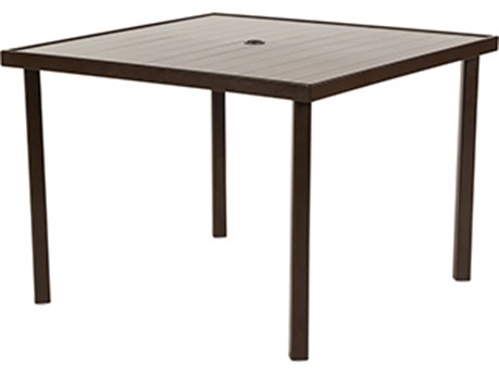 Windward Design Group Avalon Ii Aluminum 39''Wide Square Dining Table