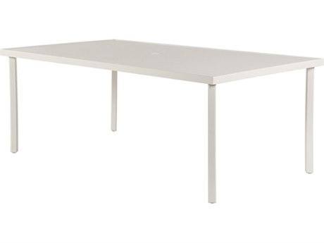 Windward Design Group Avalon II Aluminum 76''W x 42''D Rectangular Dining Table