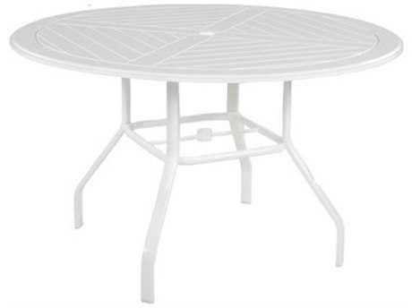 Windward Design Group Newport Mgp 48 Round Dining Table with Umbrella Hole
