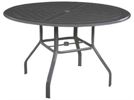 Windward Design Group Newport Mgp 54 Round Dining Table with Umbrella Hole