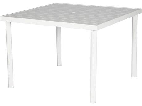 Windward Design Group Avalon II Aluminum 60''Wide Square Dining Table