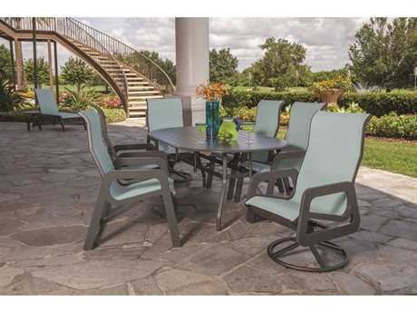 Windward Design Group Malibu Sling Dining Set