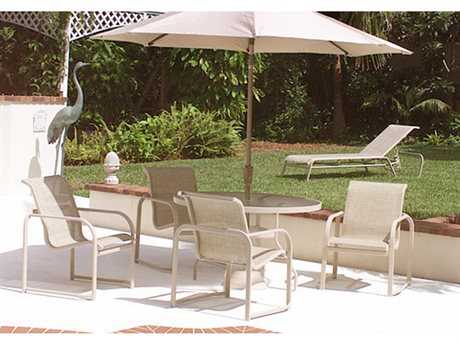 Windward Design Group Monterey Sling Aluminum Dining Set